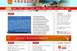 宿松法院网:www.aqssfy.gov.cn