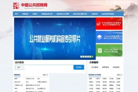 中国公共招聘网:job.mohrss.gov.cn